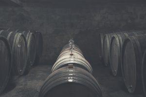 Alte Schätze im Weinkeller des Weinguts